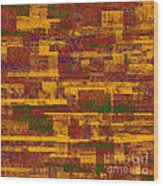 0245 Abstract Thought Wood Print