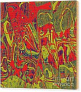 0477 Abstract Thought Wood Print