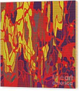 0656 Abstract Thought Wood Print