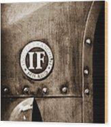 1913 Isotta Fraschini Tipo Im Emblem Wood Print