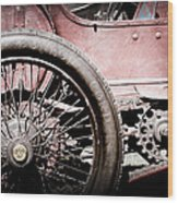 1913 Isotta Fraschini Tipo Im Wheel Wood Print