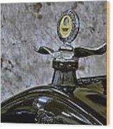 1926 Ford Model T Radiator Ornament Wood Print