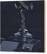 1930 Rolls Royce Emblem II Wood Print