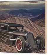 1931 Ford Hot Rod Sedan Wood Print