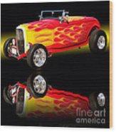 1932 Ford V8 Hotrod Wood Print