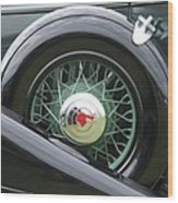 1933 Pontiac Wood Print