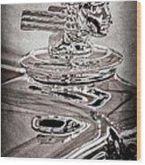 1933 Stutz Dv-32 Dual Cowl Phaeton Hood Ornament Wood Print