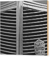 1936 Desoto Airstream Grille Emblem Wood Print