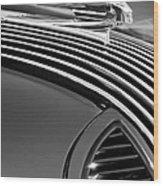 1936 Pontiac Hood Ornament Wood Print