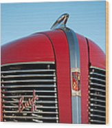 1937 Buick Boattail Roadster Grille Emblems Wood Print
