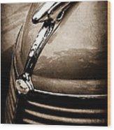 1938 Ford Hood Ornament Wood Print