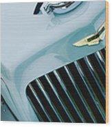 1939 Aston Martin 15-98 Abbey Coachworks Swb Sports Grille Emblem Wood Print