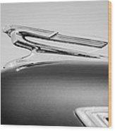 1941 Chevrolet Hood Ornament Wood Print