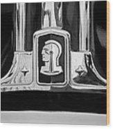 1948 Pontiac Streamliner Woodie Station Wagon Emblem Wood Print