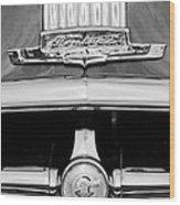1950 Pontiac Grille Emblem Wood Print