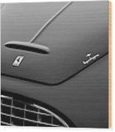 1951 Ferrari 212 Export Touring Berlinetta Hood Emblems Wood Print