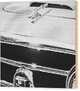 1953 Nash-healey Convertible Grille Emblem Wood Print