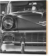 1956 Chevy Bel Air Wood Print