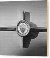 1958 Oldsmobile 98 Emblem Wood Print