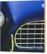 1959 Ac Ace Bristol Grille Wood Print