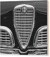 1959 Alfa Romeo Giulietta Sprint Grille Wood Print