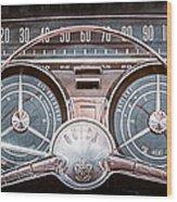 1959 Buick Lesabre Steering Wheel Wood Print
