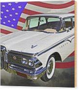 1959 Edsel Ford Ranger Wood Print