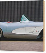 1960 Chevrolet Corvette Wood Print