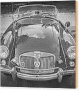 1960 Mga 1600 Convertible Bw Wood Print
