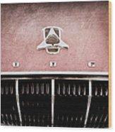 1962 Dodge Polara 500 Emblem Wood Print