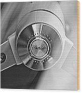 1963 Studebaker Avanti Steering Wheel Wood Print