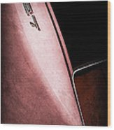 1967 Chevrolet Corvette 427 Emblem Wood Print