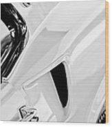 1969 Ford Mustang Boss 429 Emblem Wood Print