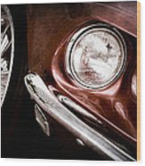 1969 Ford Mustang Mach 1 Front End Wood Print