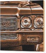 1971 Buick Gs Wood Print