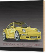1997 Porsche  993 Twin Turbo Wood Print