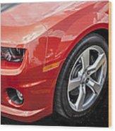 2012 Chevy Camaro Ss  Wood Print