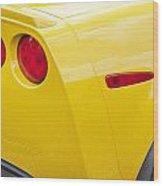 2013 Chevy Corvette Zr1 Wood Print