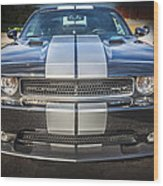 2013 Dodge Challenger Srt Wood Print