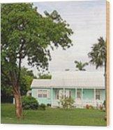 515 Cottage Wood Print