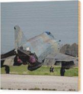 A Hellenic Air Force F-4e Phantom Wood Print