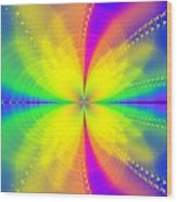 A Sun Goes Supernova Wood Print