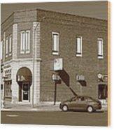 Abilene Kansas - 2nd And Broadway Wood Print