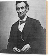 Abraham Lincoln(1809-1865) Wood Print