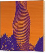 Absolute Tower Wood Print