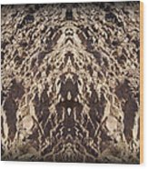 Abstract 25 Wood Print