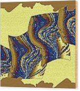 Abstract Fusion 177 Wood Print