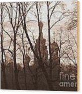 Across Wood Print