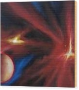 Agamnenon Nebula Wood Print