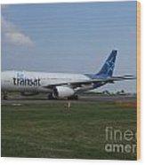 Air Transat Airbus A330 Wood Print